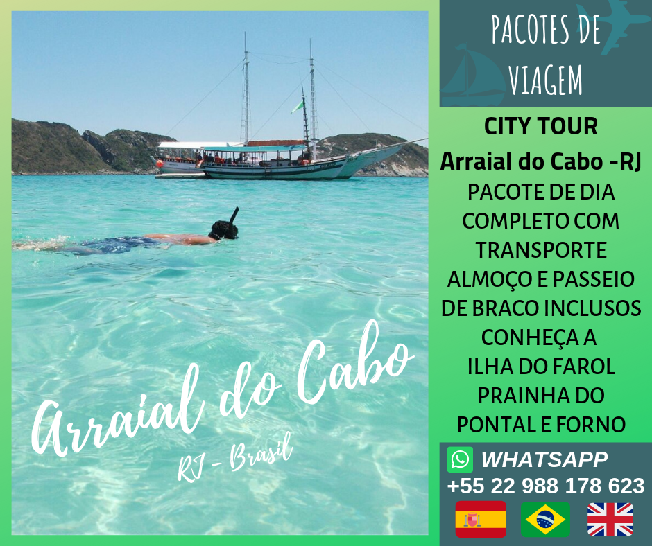 City Tour Arraial do Cabo -RJ