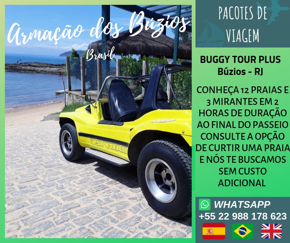 Passeio de Buggy Plus em Búzios - RJ