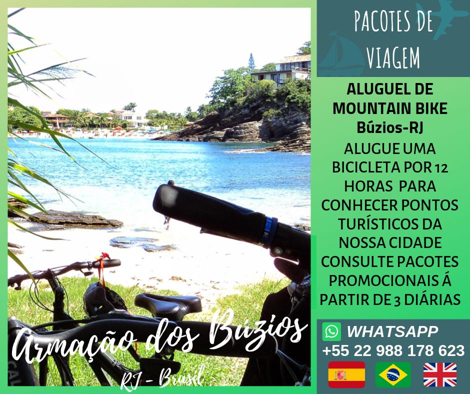 Aluguel de Mountains Bike Búzios - RJ