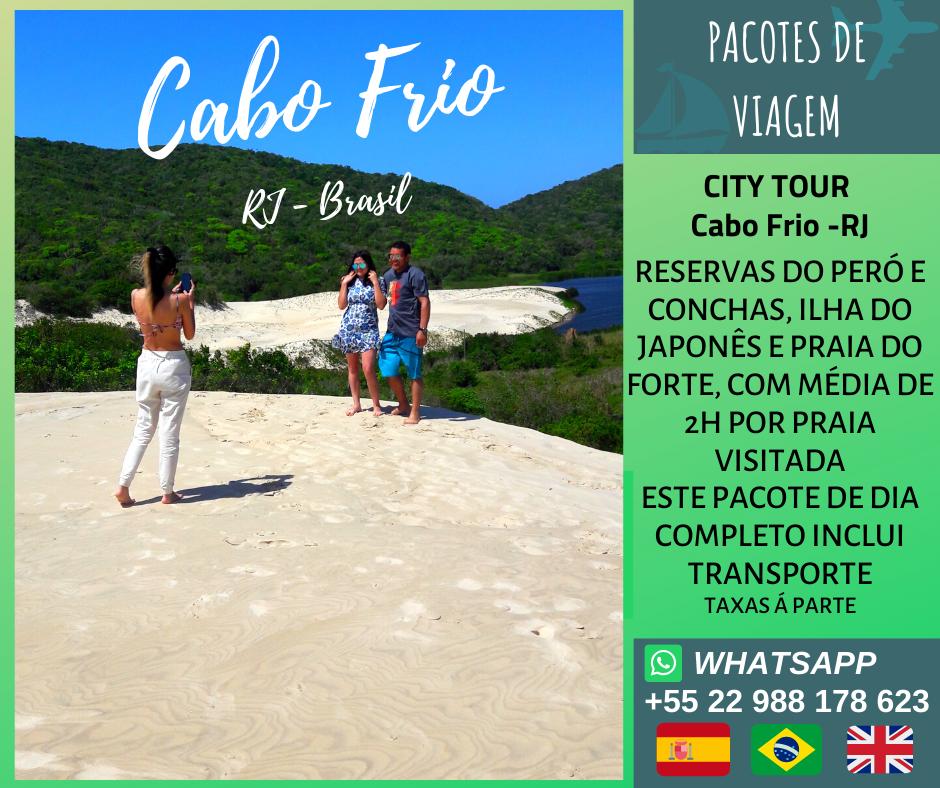City Tour Cabo Frio - RJ